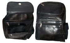 Lot of 2. Leather Backpack, Nap sac, Rock sack, Leather bag Book bag New Day bag
