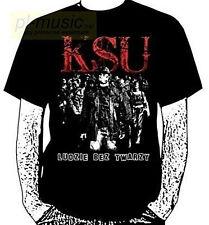 = t-shirt KSU -  LUDZIE BEZ TWARZY /koszulka rozmiar  M size / punk rock