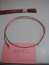 .141 Inch diameter semi-rigid Microwave Hardline Cable 5 feet Nos