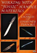 Working With Fossil Handle Materials (DVD)/knife making