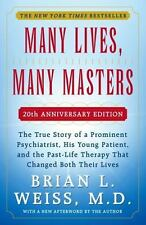 Many lives, many masters by Brian L Weiss (Paperback)