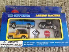 Antique Die Cast Cars Set Mega Movers Action Racers  US Seller OFF road series
