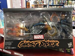 """GHOST RIDER W/ MOTORCYCLE MARVEL LEGENDS HASBRO 6"""" ACTION FIGURE"""