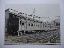 JAP447 - JAPANESE National RAILWAY - ELECTRIC TRAIN PHOTO Shinano-Omachi Japan