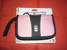 CUSTODIA PORTA NINTENDO DS ORIGINALE color rosa può contenere giochi e accessori