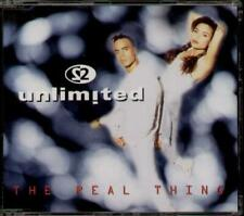 2 UNLIMITED The Real Thing CD Single