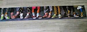 Nike Vintage 1985 Shoe Poster Panoramic 13 x 75.5