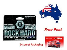 Rock Hard power Delay Cream Male Erection Enhancement 15ml..Keep it up all night