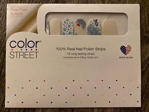 Color Street 1 WARRIOR Nail Polish Strips DIABETES Awareness RETIRED