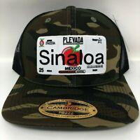 Snapback Hat Camouflage Cachucas Free Bracelet Baseball Cup Placa Sinaloa