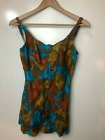 Vintage Swimsuit Ladies Cotton - Caprice of London (small)