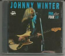 "Johnny Winter ""Five After Four AM"" CD Thunderbolt/Magnum/UK - NEU/OVP/NEW/Sealed"