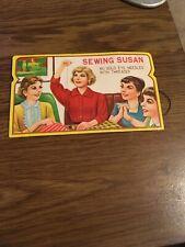 Sewing Susan  Needles , 1960s Advertising Header Card