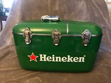 Heineken Beer Advertisement Coolbox Cooler Radio & CD Player Excellent Condition