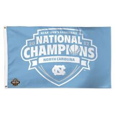 North Carolina Tar Heels 2017 National Champions 3'X5' Deluxe Flag New Wincraft