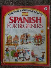 USBORNE SPANISH FOR BEGINNERS - LANGUAGE GUIDE