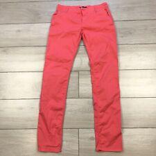 Gant Chino Trousers Slim Fit Pink UK 10 W30 L32
