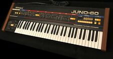 ROLAND JUNO-60 Vintage Synthesizer Keyboard 1 owner USA -u know it, u love it!