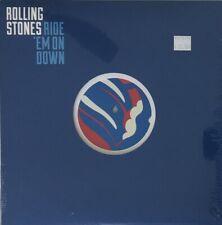 "ROLLING STONES - Ride em down - 10"" rare RSD ROCK BLUE VINYL"