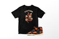Culture T-Shirt To Match Air Jordan 1 OG Shattered Backboard Orange All Sizes