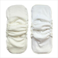 5 Layers bamboo cotton waterproof diapers inserts Reusable baby nappies FaHFFS