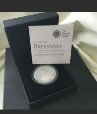 More details for royal mint 2010 britannia silver proof £2 coin 1oz