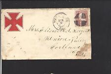 WASHINGTON,DISTRICT OF COLUMBIA.  #65 stamp.  CIVIL WAR PATRIOTIC COVER.