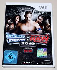 Smackdown vs raw 2010-nintendo wii-ETAT NEUF-le catch ECW
