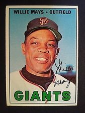 1967 Topps Willie Mays  #200, San Francisco Giants, SF, EX/NM