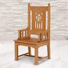 Florentine Collection Celebrant Chair - Medium Oak