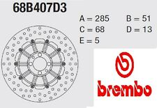 Disco freno BREMBO Serie Oro POST BMW 1000 K 100 RS 83 > 91