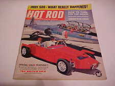 AUTOMOTIVE MAGAZINE HOT ROD AUGUST 1963 SPECIAL CENTERSPREAD TEX SMITH'S XR-6