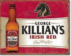 Killian's Red Beer Bottle Irish Distressed Retro Vintage Bar Pub Wall Decor Sign