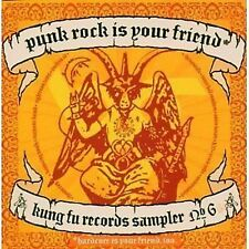 Punk Rock Is Your Friend Kung Fu Records Sampler 6 CD NEW SEALED Circle Jerks+