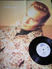 """7"""" - Halo James - Baby & All i need is a chance - Posterbag UK 1990 # 0186"""
