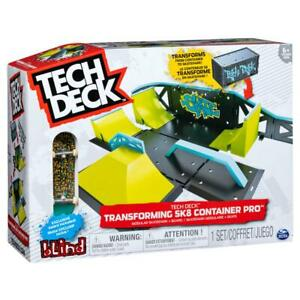 Tech Deck Transforming SK8 Container Pro Modular Skatepark and Board 6035884