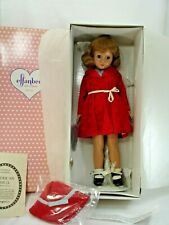 Effanbee Doll, American Child, Red Coat, Composition, 18 Inches, Nib