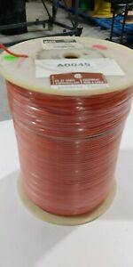 NEW #18 AWG Orange Wire MTW 1000' ft PVC Hook UP Wire 600V 105C Stranded 16/30