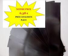 PROMO - BANDES HAWID fond noir par 25 -  217 x 55 - simple soudure MATERIEL NEUF
