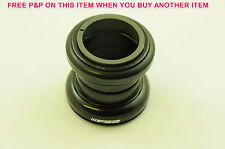 "FSA ZERO STACK AHEAD THREADLESS MTB ATB ROAD BIKE HEADSET 34mm 1 1/8"" STEERER"