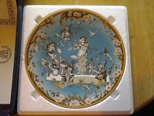 """Villeroy & Boch """"Snow White And The Seven Dwarfs"""" Mettlach Plate 1st Edition"""