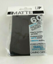 Yu Gi Oh 60 Protege Cards Sleeves Small Ultra Pro Matte Black
