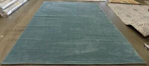 AQUA 9' X 12' Damaged Rug Reduced Price 1172583663 VSN606B-9