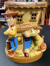 Disney Walt Disney World Disneyland Toy Story Bank Woody Jessie Bullseye NEW NEW