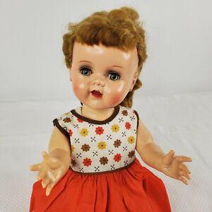 Vintage 1950s Ideal Saucy Walker Doll Working Crier