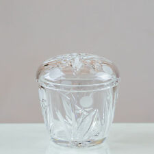Victoria Crystal Jam/ Honey Bowl 24% LEAD CRYSTAL 100% HANDMADE