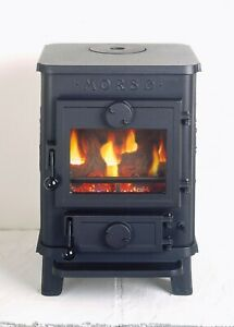 Morso Squirrel replacement stove glass (various models) with free seals