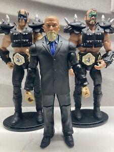 WWE Elite Series 1  Legends Road Warrior Hawk Animal Legion Of Doom L.O.D