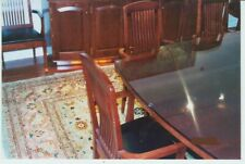 Custom Jos Van Benton Solid Cherry Conference Table And Ten Matching Chairs