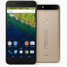 Google Huawei Nexus 6P 64GB Gold GSM Unlocked AT&T T-Mobile Android 12.3MP 5.7""